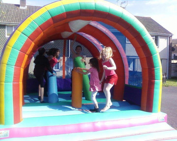 Biff Bash and crash with this bouncy castle