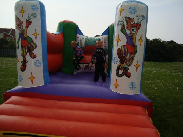 Circus Bouncy Castle Hire