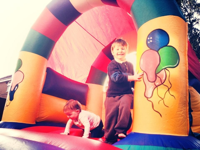Great small bouncy castle hire