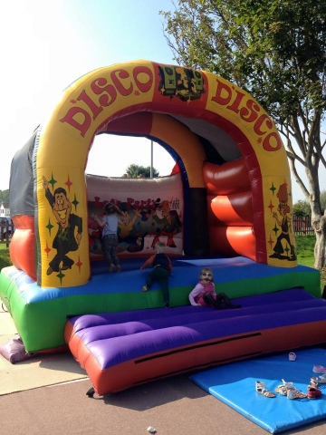 Disco Disco Bouncy Castle