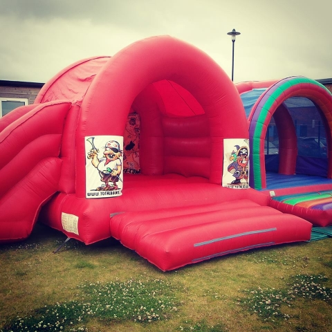 Pirates Bouncy Castle and Slide Hire