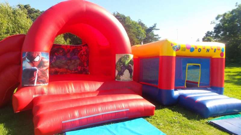 Spiderman Bouncy castle hire
