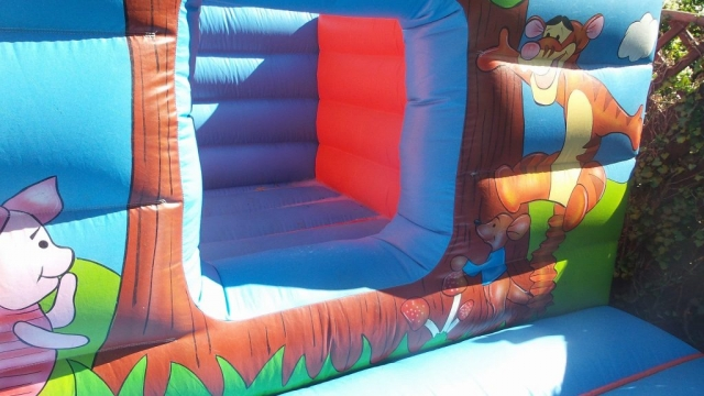Tigger and Piglett Bouncy Castle Hire