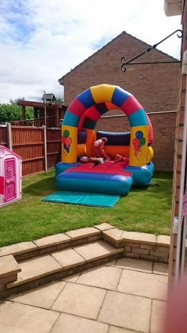 Small Bouncy Castle Inflatable