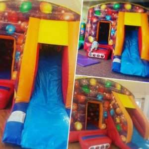 Bouncy castle with slide NORTH SOMERSET