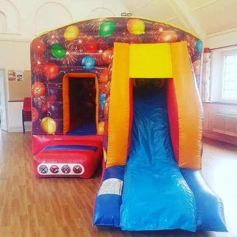 Bouncy Castle Hire with Slide