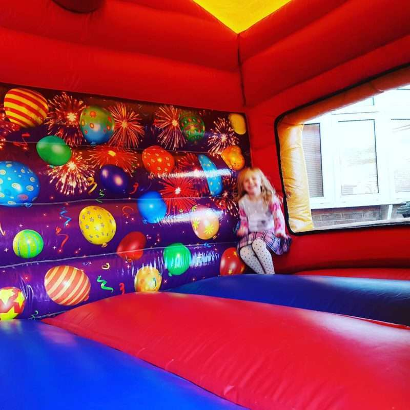 Inside the Lets Party and Slide