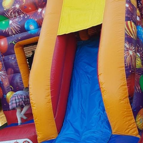 The Slide Bouncy Castle Hire