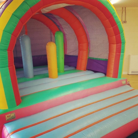 Suitable for halls and indoors bouncy castle