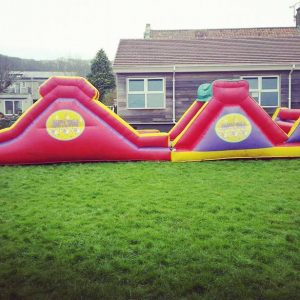 Large Obstacle Assault Course Hire