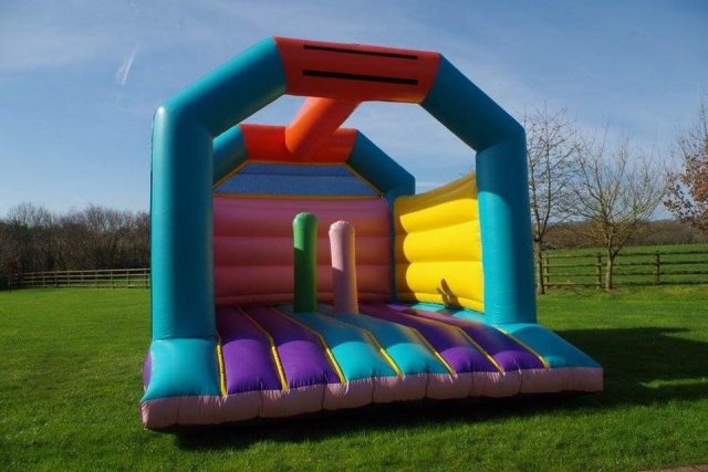 The Adult Jump With Biff Bash Bouncy Castle Hire