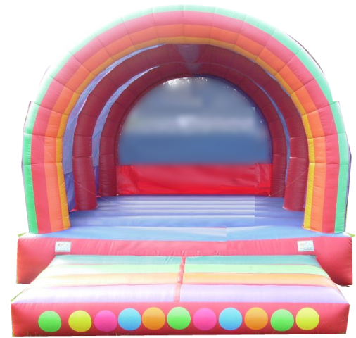 ages 2 and above bouncy castle suitable all ages