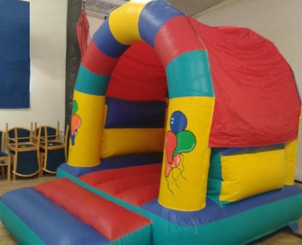 Bouncy Castle Balloon Themed