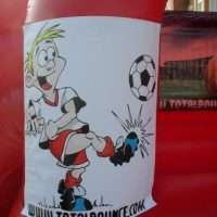 Football Themed Bouncy Castle Hire in Bristol