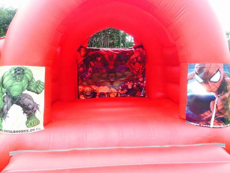 Marvel Bouncy Castle Hire