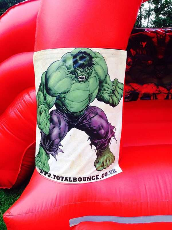 The Incredible Hulk Bouncy Castle