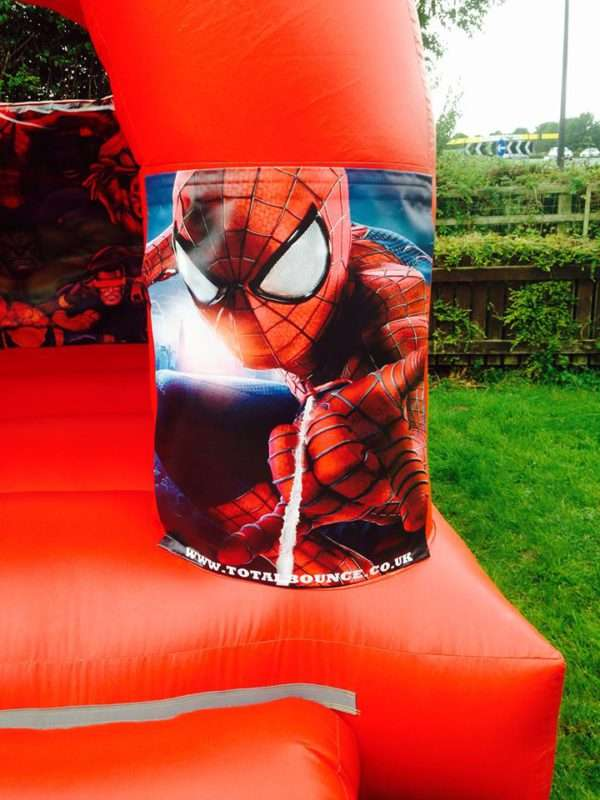 Spiderman inflatable hire
