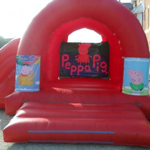 Peppa Pig Bouncy Castle Hire in Burnham-on-Sea