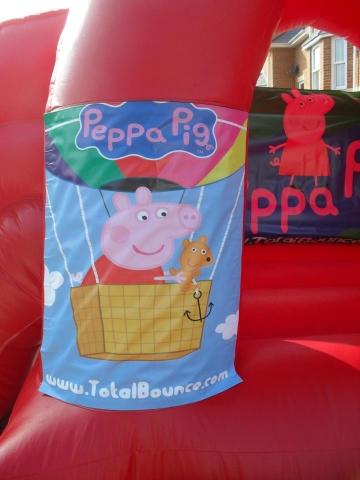 Peppa Pig Bouncy Castle Hire