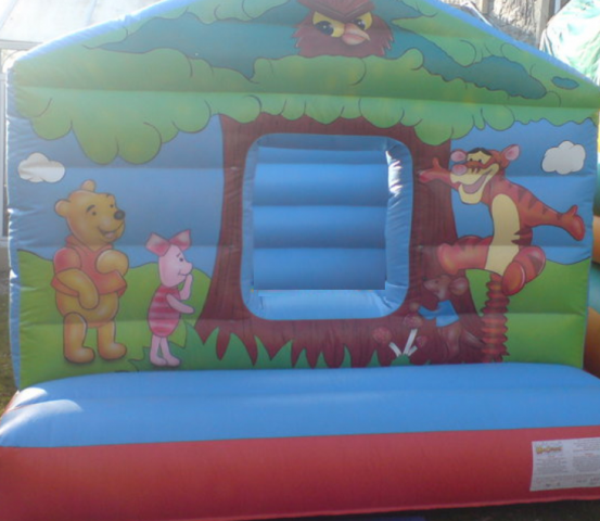 Winnie The Pooh Bouncy Castle Hire