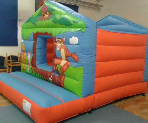 Winnie The Pooh Inflatable Hire