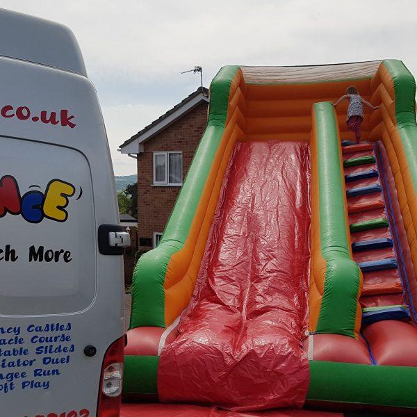 Inflatable Slide Hire Uk: Inflatable Slide Hire In Weston-super