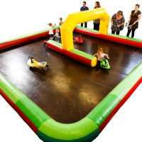 Inflatable Race Track and cars Hire