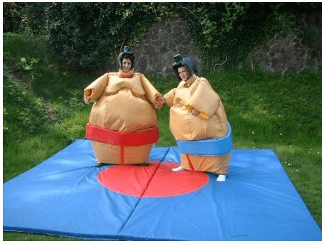 Sumo Suit Hire Weston-super-Mare