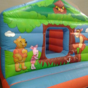Winnie The Pooh Bouncy Castle Hire Clevedon